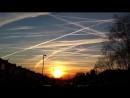 Второе Солнце и Нибиру пытаются скрыть кучей химтрейлов, химиотрасс