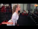 Валентина Зорина (Россия) - красивая фитнес-бикини модель и гимнастка. Лучшие упражнения для ягодиц. Рекомендую!