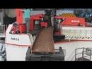 Профилегибочный станок, формовка двутавра большого размера