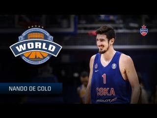 Nando De Colo All Star Game 2018 Profile