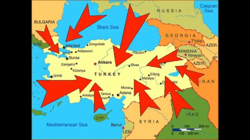 Араратская республика_ Курдистан, Армения – вариант Сталина
