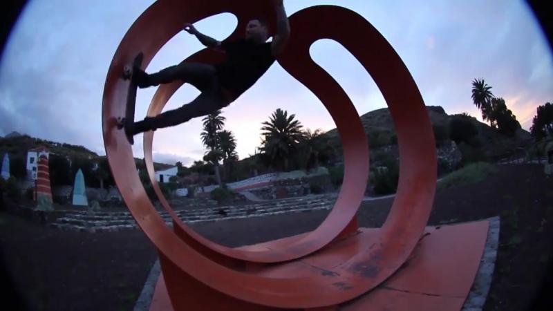 Bam Margera and friends skate Spain 2017 CKY