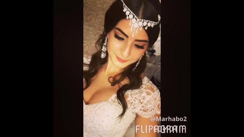 Прическа и макияж для прекрасной невесты 👰🏻