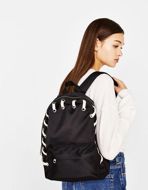 Рюкзак со шнуровкой
