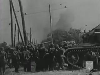 Захват Ростова дивизией СС Викинг, июль 1942 г. Немецкая кинохроника.