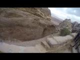 Petra reaching the top!!