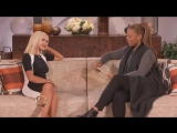 Christina Aguilera on the queen Latifah show