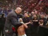 Боксер середньоваговик Флойд Мейвезер jr. надавав по є..лу монстру рестлігу в надважкій ваговій категорії Полу Рэндаллу Уайту jr