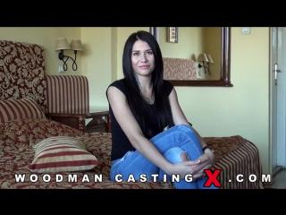 Erika bellucci [casting, russian, brunette, blowjob, porno, woodman, hd720]
