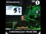 Demi Lovato takeover Radio 1 on Christmas Day