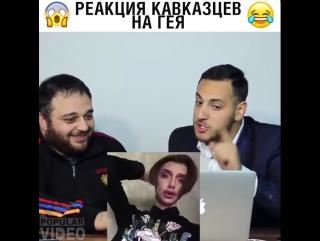 Реакция кавказцев на гея 😂
