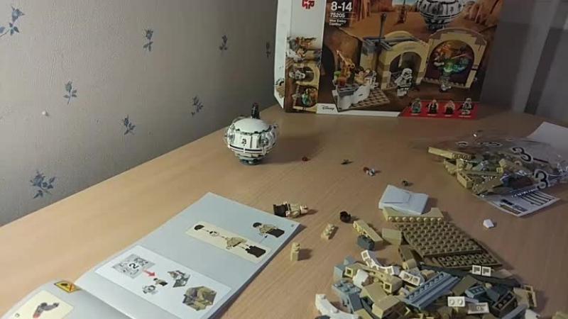 Собираем LEGO Star Wars — Mos Eisley Cantina (75205), часть 2 » Freewka.com - Смотреть онлайн в хорощем качестве