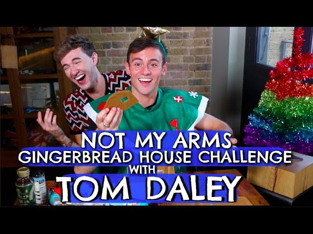 NOT MY ARMS GINGERBREAD CHALLENGE W/ TOM DALEY