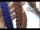 Cara Membuat Tali Tas Rajut Kepang How To Make Braided Bag Strap