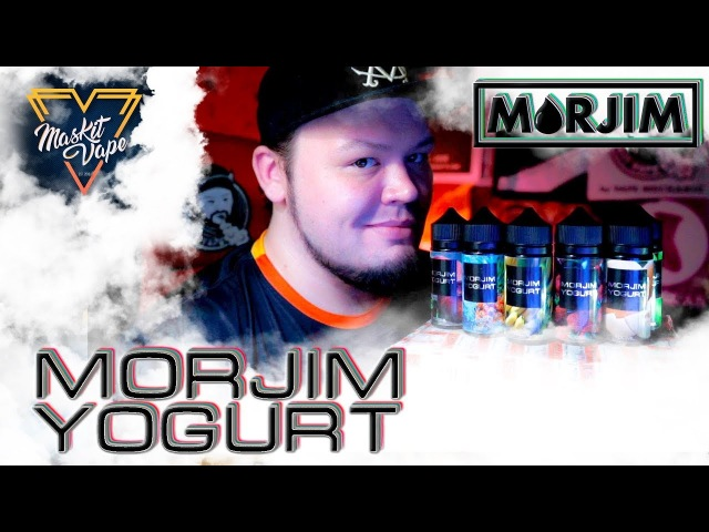 Morjim Yogurt by Morjim Liquid | 🍓🍌 Бюджетный Йогурт 🍶