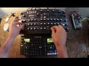 Elektron Digitone, Digitakt Novation Peak First play thru