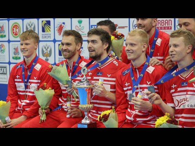 «Датский динамит»: итоги Чемпионата Европы по бадминтону в Казани