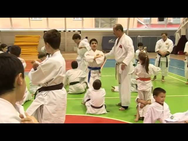Physical and Sparring Drills for Children by Seiji Nishimura. Seminar in Moscow 2008 (Part 4/6)