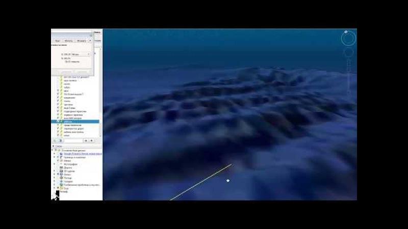 Шок! Следы древних цивилизаций на дне океана которые не удалили с Гугл карт