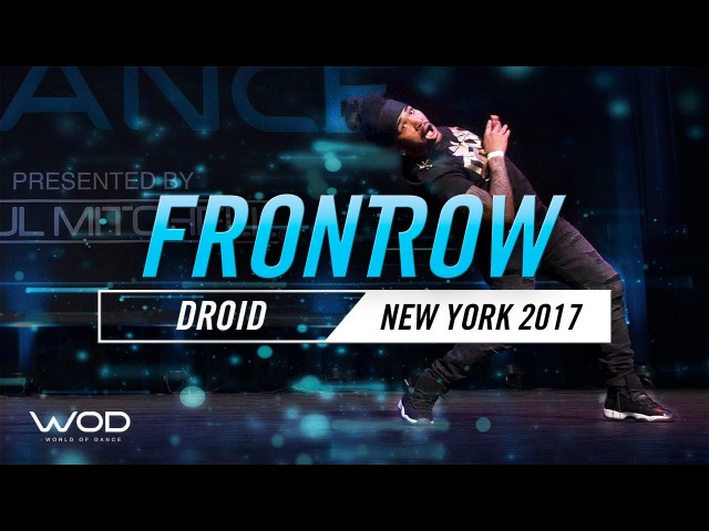 Droid   FrontRow   World of Dance New York 2017   WODNY17   Danceproject.info