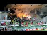 UnitedSouth.ru | Пирошоу на матче Шериф-Локомотив 1:1 (3 тур ЛЕ 17/18. 19 октября)