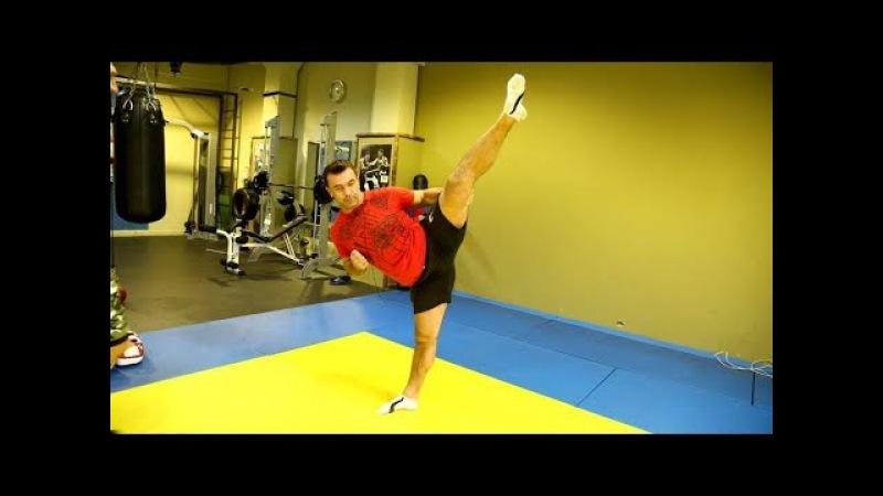 Два упражнения чтобы научиться бить как Ван Дамм