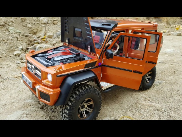 MST CFX-W Mercedes Benz G-Class 4-Door Hard Body