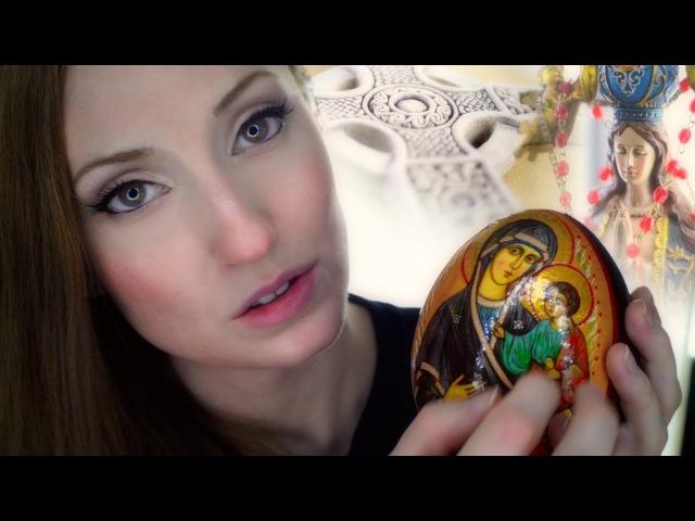 ASMR Show Tell Christian Religious Items