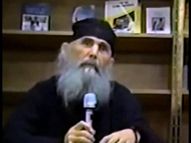 Архимандрит Ефрем Мораитис Беседа о духовной брани