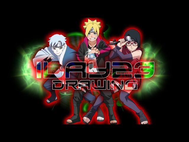 Speed Drawing - Asta (Anime Black Clover)