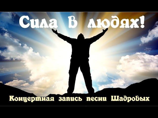 Песни для счастливой жизни! Сила в людях! Шадровы!