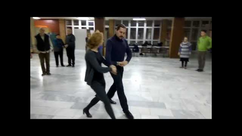 Падепатинер, МК по русским бальным танцам XX века в Белграде, 20 12 17