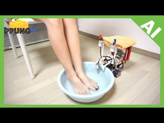 LEGO Mindstorm EV3 - Foot spa robot by 뿡대디