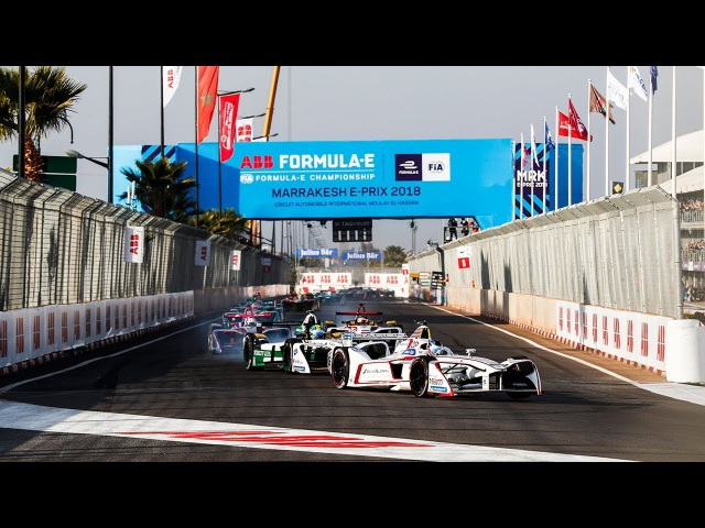 Marrakesh electrified by the first race of the ABB FIA Formula E Championship