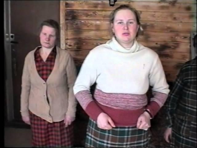 Отчитка в Николо Знаменском Ските часть 1 1993г