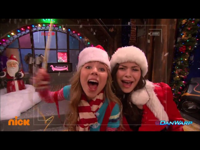 Freddie the Christmas Flashlight | iChristmas | iCarly | Dan Schneider
