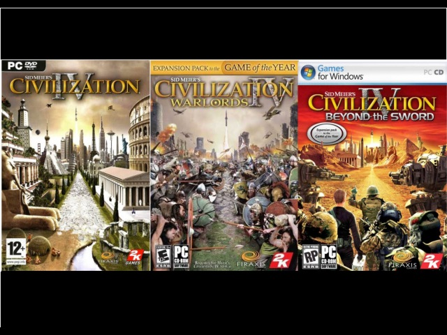Full OST Civilization IV ( Expansions Warlords Beyond the Sword)