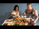 120 Суши Роллов ЗА РАЗ CheatMeal Challenge 2 120 Sushi