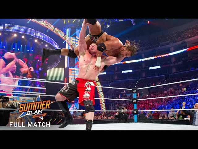 FULL MATCH Triple H vs Brock Lesnar No Disqualification Match SummerSlam 2012 WWE Network