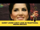 Sunny Leone's Best Look in Traditional Indian Dresses