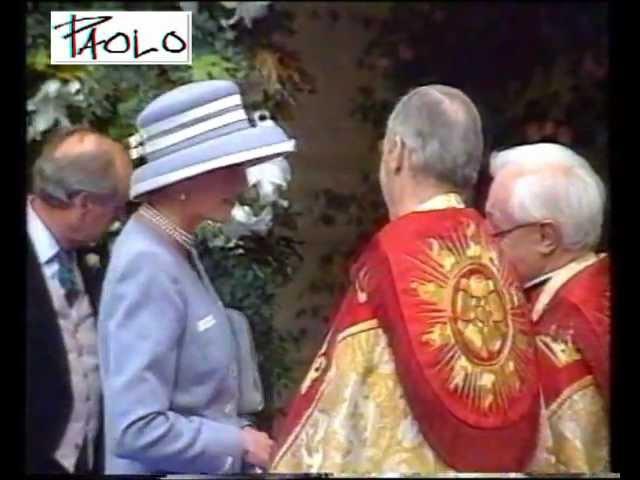 Princess Diana at The Wedding Of Viscount David Linley 8 October 1993