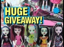 Monster High Doll Giveaway and so much more