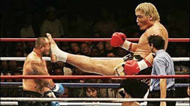 O MONSTRO do MMA e do Kick Boxing - muito louco !!