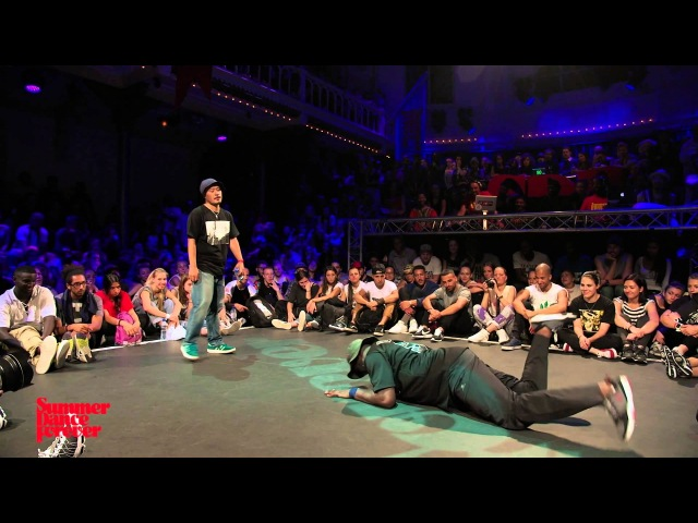 Yugson vs Hiro JUDGE BATTLE House Dance Forever - Summer Dance Forever 2015