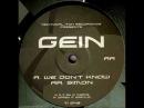 GEIN - We Don't Know