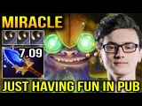 MIRACLE TINKER JUST HAVING FUN WITH FRIEND Dota 2