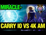 Miracle- Carry IO VS Extremely Motivated  Ancient Anti-Mage - Guess Who Won - Dota 2