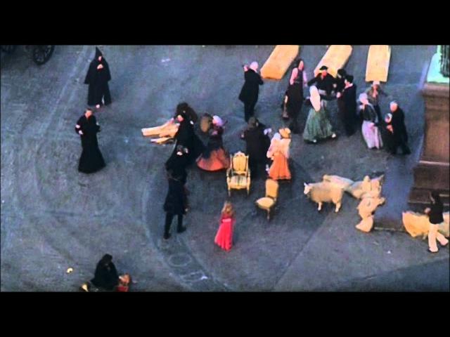 L'ultima cena degli appestati da Nosferatu, principe della notte (Herzog, 1979)