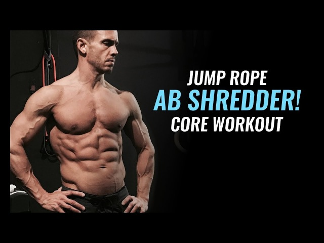 Strengthen Your Core and Build 6 Pack Abs Jump Rope Interval Workout