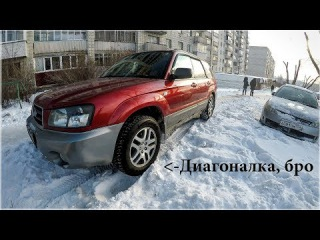 Словил диагоналку на ровном месте! Subaru Forester. #КАК ИЗБЕЖАТЬ ДИАГОНАЛЬНОГО ВЫВЕШИВ...